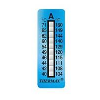 TSTRIPE10-A, (40°C-71°C), 10 Levels, Pack of 10