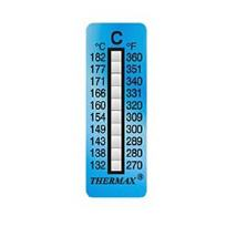 TSTRIPE10-C, (132°C-182°C), 10 Levels, Pack of 10
